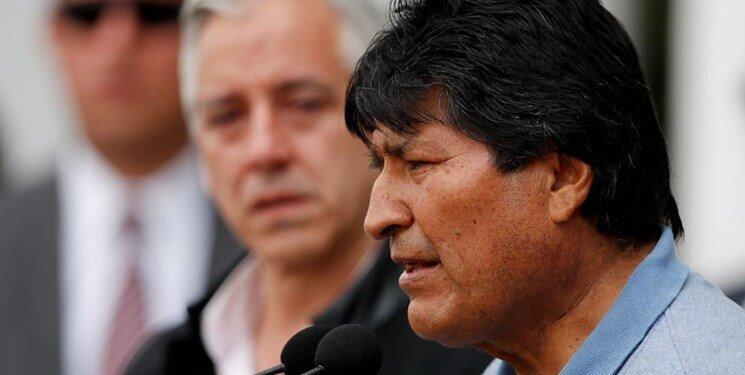 واکنش مورالس به اقدام خانمی که جای او را غصب کرد