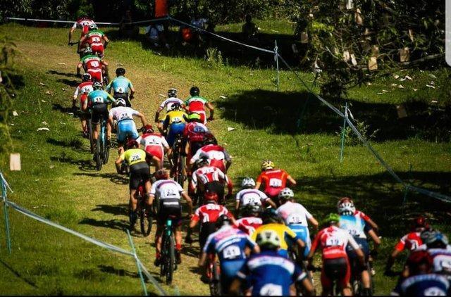 چهارمی تیم میکس کوهستان ایران در دوچرخه سواری قهرمانی آسیا