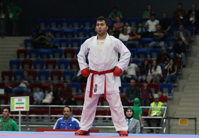 مدال نقره سنگین وزن آسیا بر گردن گنج زاده