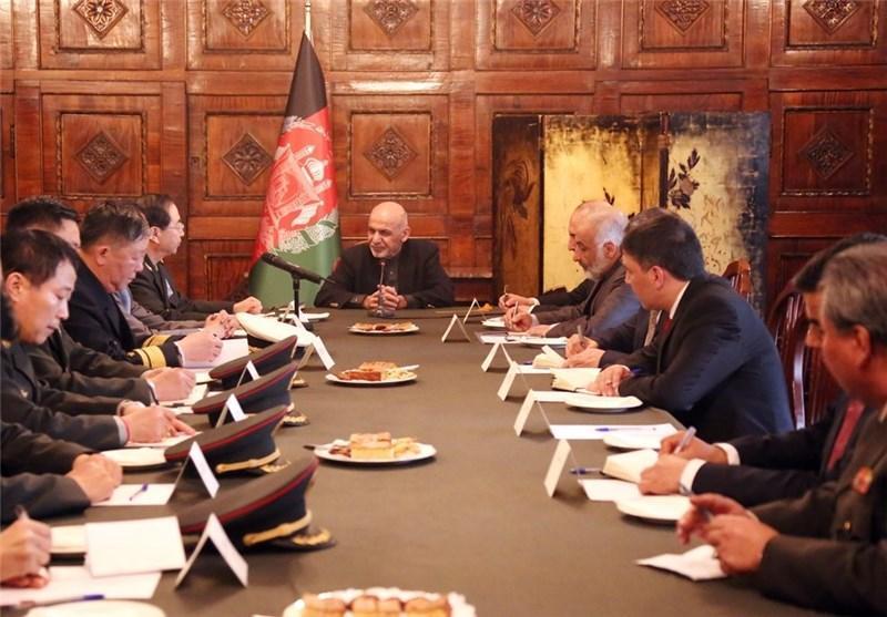 همکاری های نظامی کابل-پکن محور گفت وگوهای رئیس جمهور افغانستان و رئیس ستاد ارتش چین