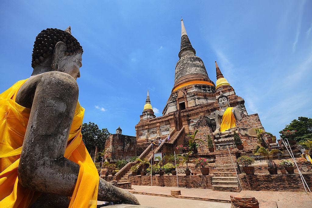 شهر سوخته آیوتایا بانکوک