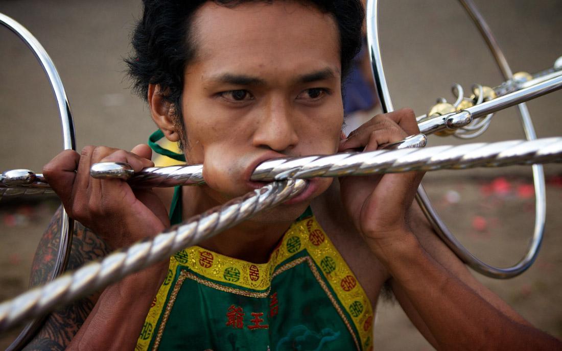 فستیوال گیاهخواران پوکت در تایلند