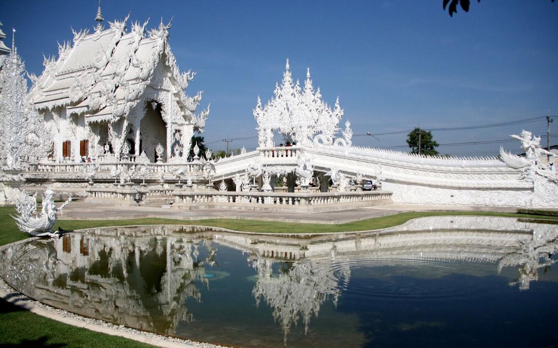 بازدید از معبد سپید در تور چیانگ رای تایلند