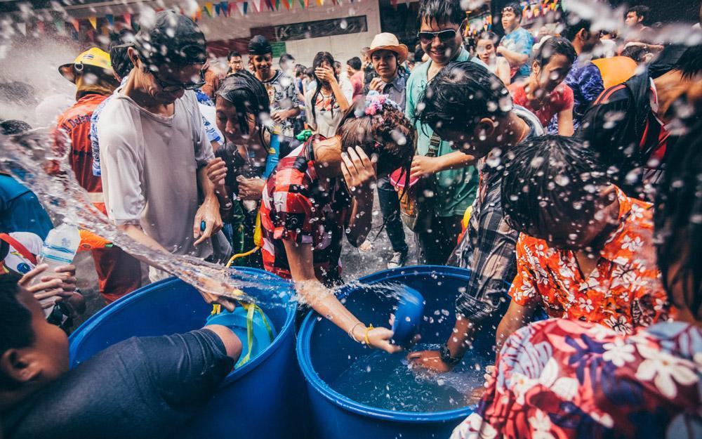 سونگکران (Songkran)، فستیوال آب بازی تایلند