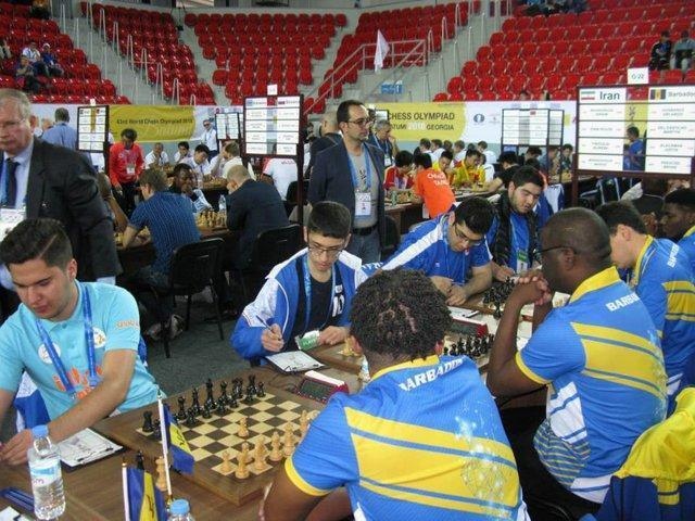 دور دوم المپیاد جهانی شطرنج، 6 پیروزی و دو تساوی برای شطرنج بازان ایران