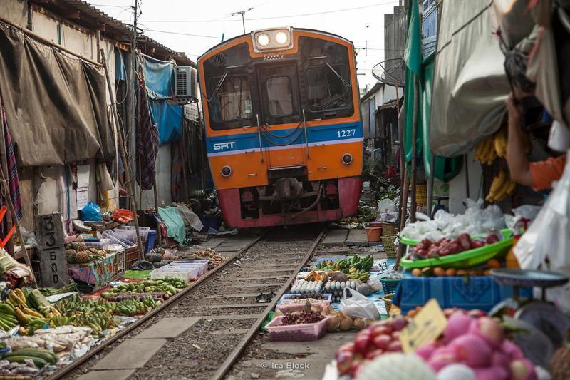 بانکوک زندگی روستایی بازارهای شناور
