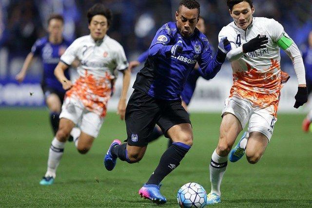 شکست سنگین گامبا اوزاکا در منطقه شرق لیگ قهرمانان آسیا