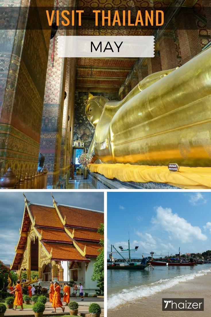 بازدید از تایلند در ماه می