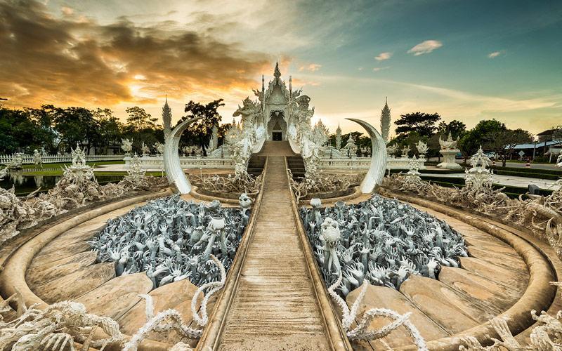 معبد سفید در تایلند