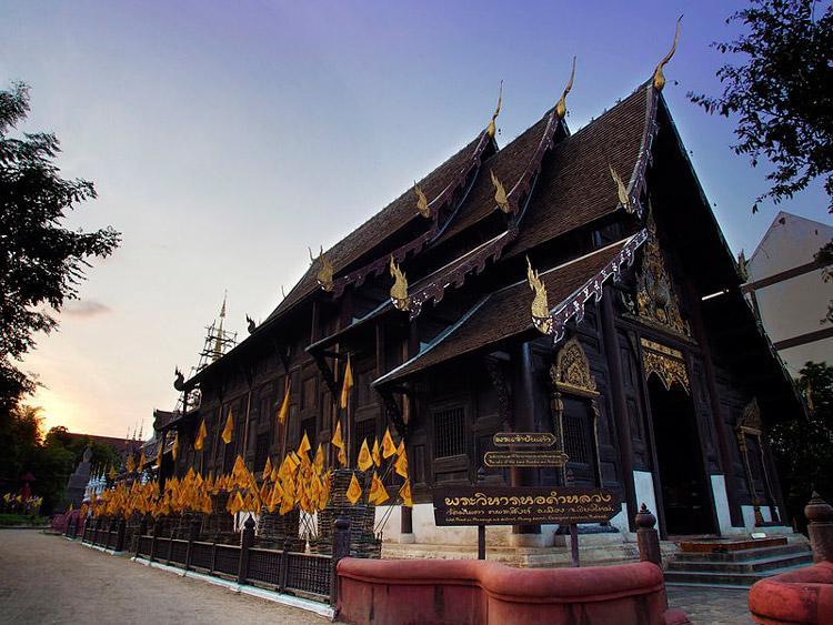 معبد وات پان تائو (Wat Pan Tao) چیانگ مای