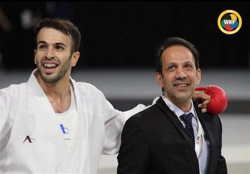 بهمن عسگری در صدر رنکینگ دارهای المپیک 2020