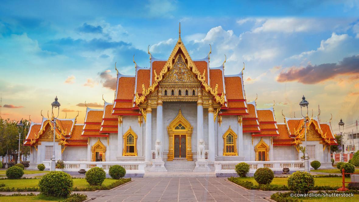 معابد زیبای بانکوک