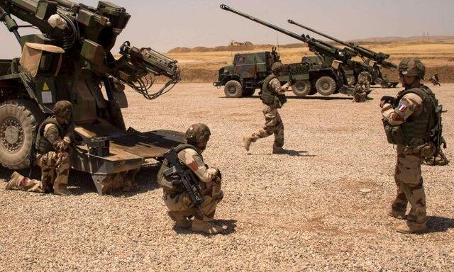 عراق از خروج نیروهای فرانسوی و تخلیه یک پایگاه نظامی خبر داد