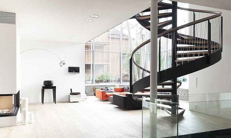 طراحی و بازسازی پله های مدرن