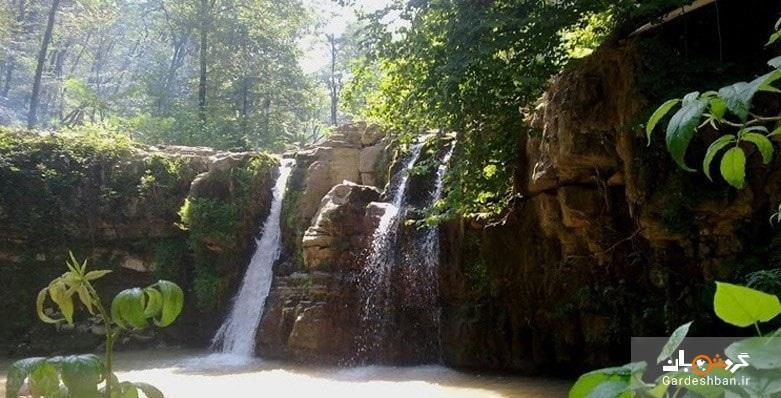 آبشار درازکش؛از زیبایی های بکر و دست نخورده بابل، تصاویر