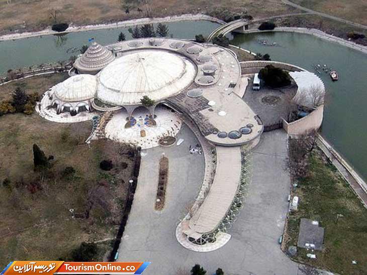 کاخ شمس؛ معماری منحصربفردی به شکل صدف
