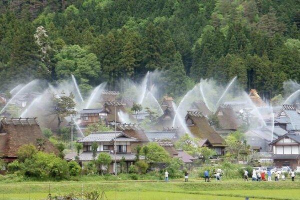 یک سیستم اطفا حریق جالب برای دهکده 200 ساله