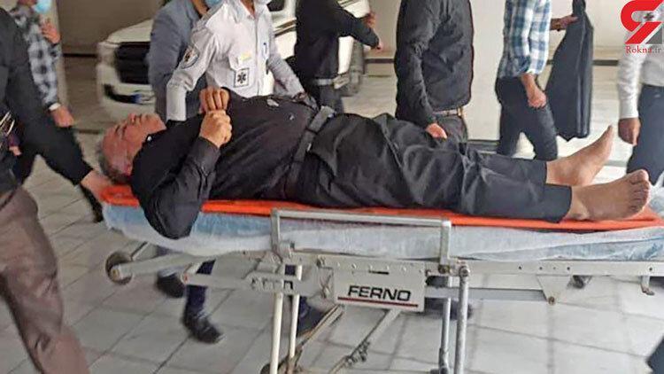 فرماندار آبادان بیهوش و به بیمارستان منتقل شد