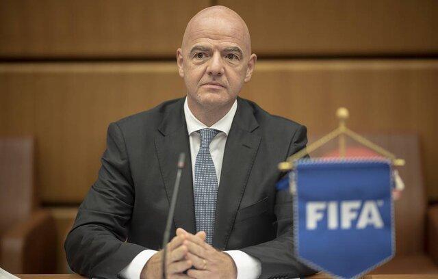 اینفانتینو: جام جهانی قطر قطعا با حضور تماشاگر خواهد بود