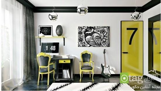 اتاق خواب مناسب نوجوانان پسر و دختر با طراحی سرشار از انرژی
