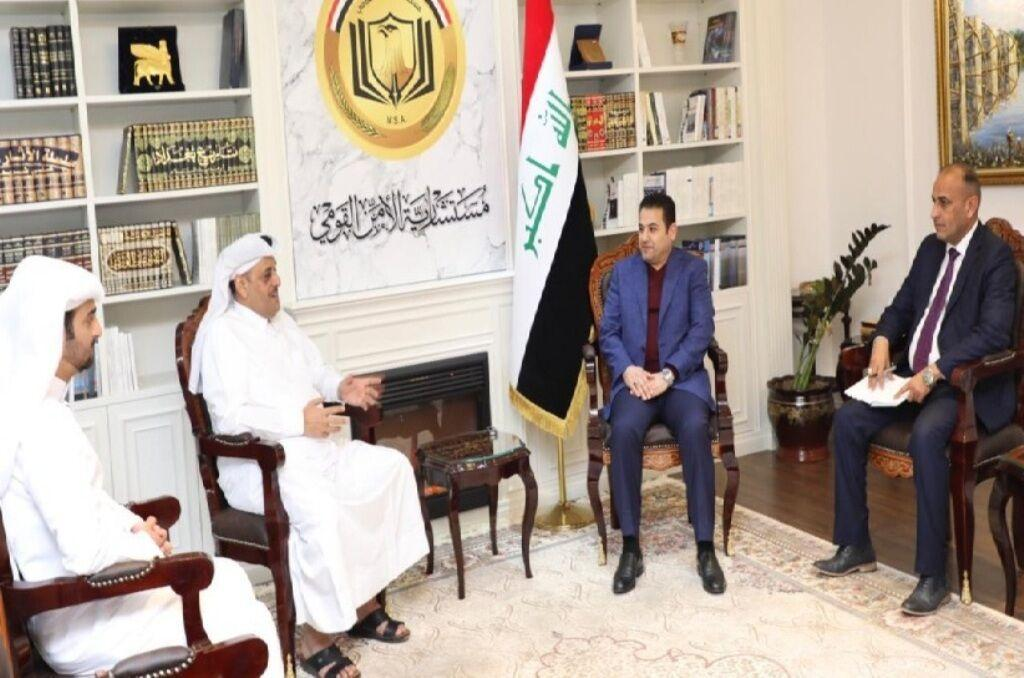 خبرنگاران سفیر دوحه : قطر از عراق در زمینه سرمایه گذاری حمایت می نماید