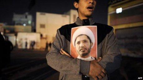 کمپین همبستگی با رهبر محبوس مخالفان بحرین