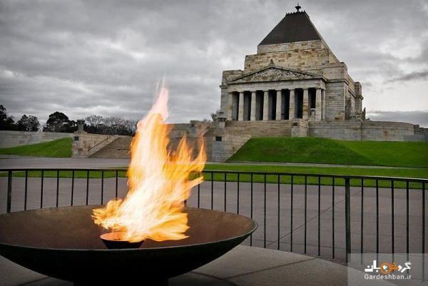 بنای یادبود جنگ در ملبورن، عکس