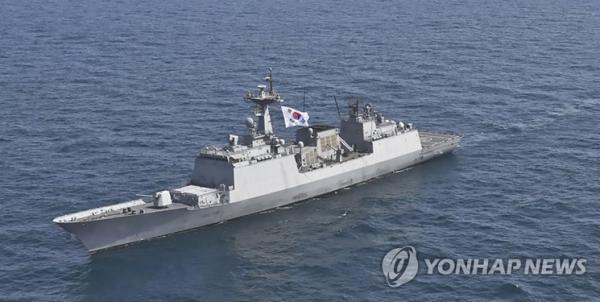 عقب نشینی نظامیان کره جنوبی از تنگه هرمز