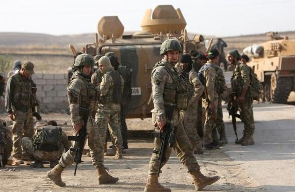 سپر فولادی ارتش ترکیه در شمال غرب سوریه