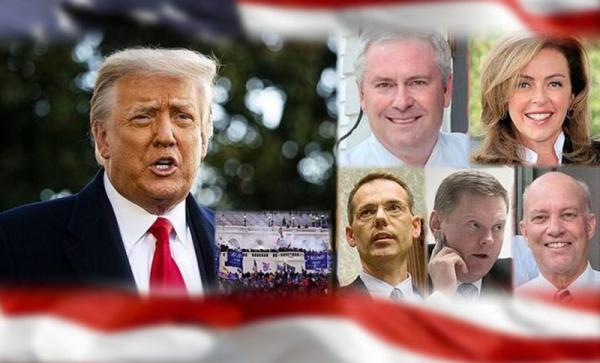 پنج وکیل رئیس جمهوری سابق امریکا استعفا کردند