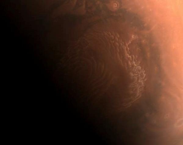 اولین تصاویر کاوشگر چینی از مریخ منتشر شد