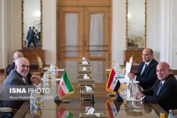 ملاقات وزیر خارجه عراق با ظریف و دیگر مقامات ایرانی در تهران