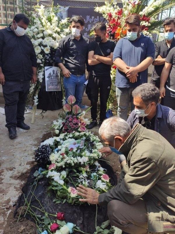 پیکر نادر دست نشان به خاک سپرده شد