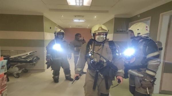 جزئیات حادثه آتش سوزی بیمارستانی در یوسف آباد