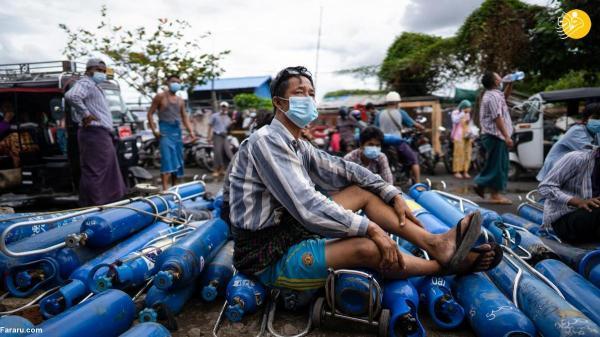 کمبود اکسیژن در میانمار