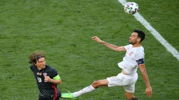 بوسکتس: بازی اسپانیا ، کرواسی باید خیلی سریعتر تمام می شد